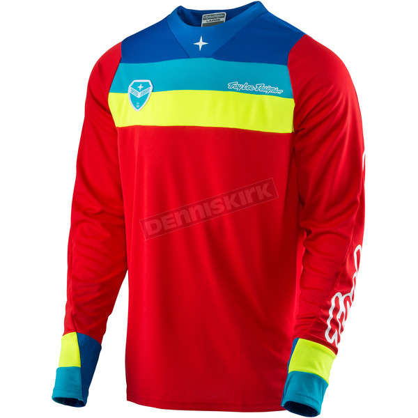 Troy Lee Designs Red SE Corsa Jersey - 303133405