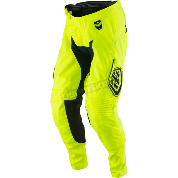 Troy Lee Designs Fluorescent Yellow/Navy SE Starburst Pants - 203013535