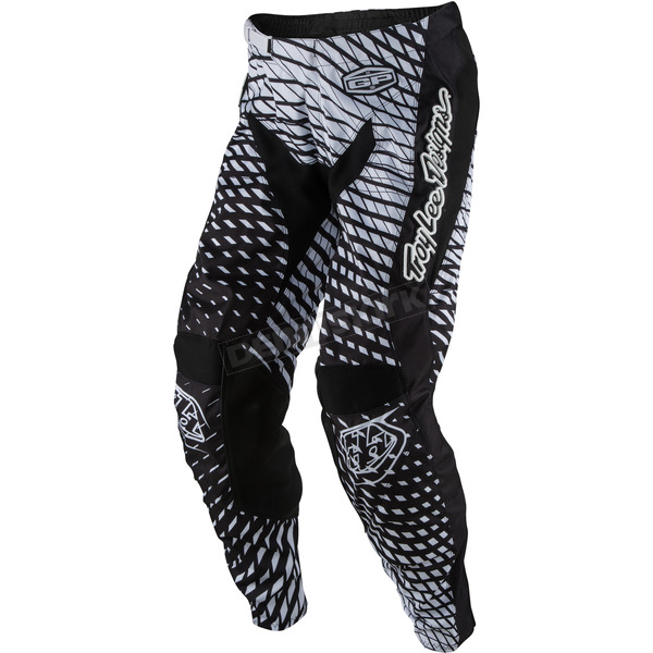 Troy Lee Designs Black/White GP Tremor Pants - 207131215