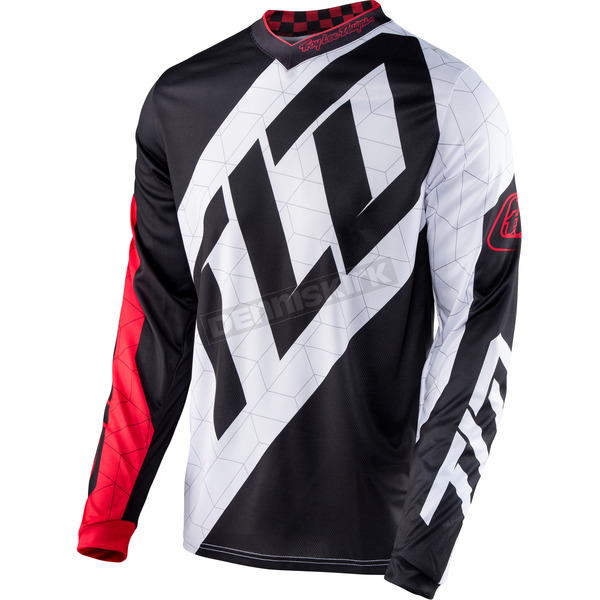 Troy Lee Designs Red/White/Black GP Quest Jersey - 307130412