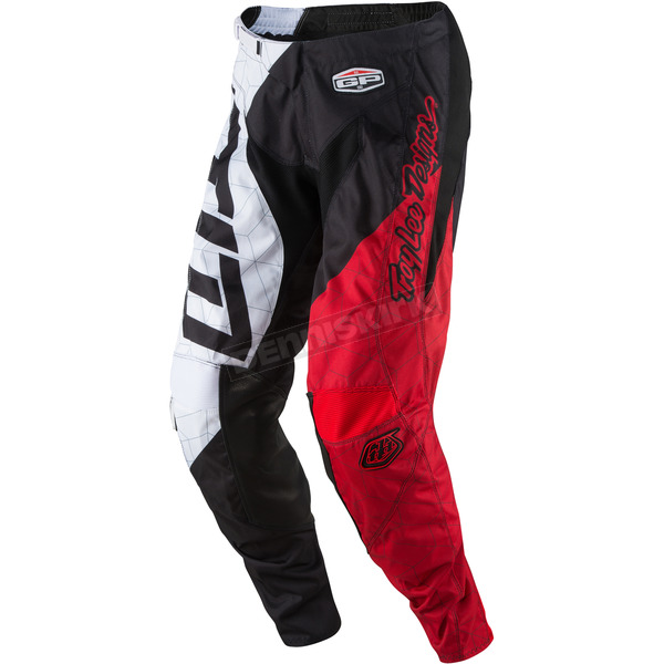 Troy Lee Designs Youth Black/White GP Quest Pants - 209130214
