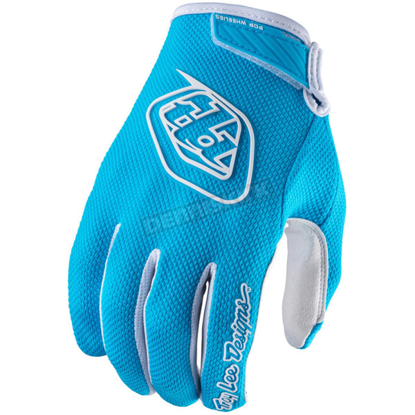 Troy Lee Designs Youth Light Blue Air Gloves - 406003335