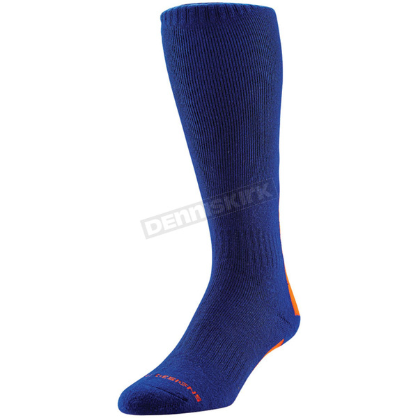 Troy Lee Designs Navy/Red Holeshot GP Premium Riding Socks - 801086303