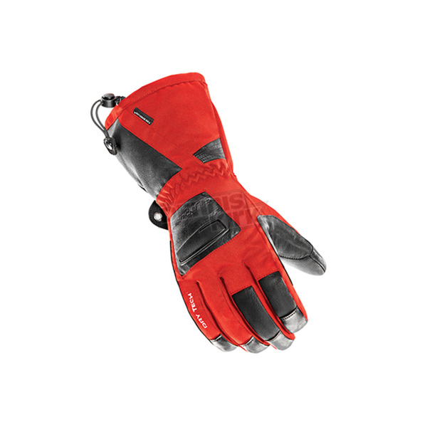 Joe Rocket Red/Black Latitude XL Gloves - 1600-1107