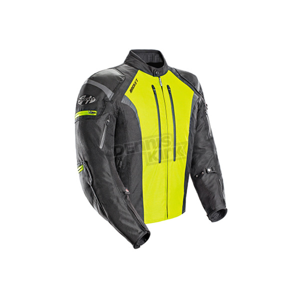 Joe Rocket Black/Hi-Viz Atomic 5.0 Jacket - 1651-5606