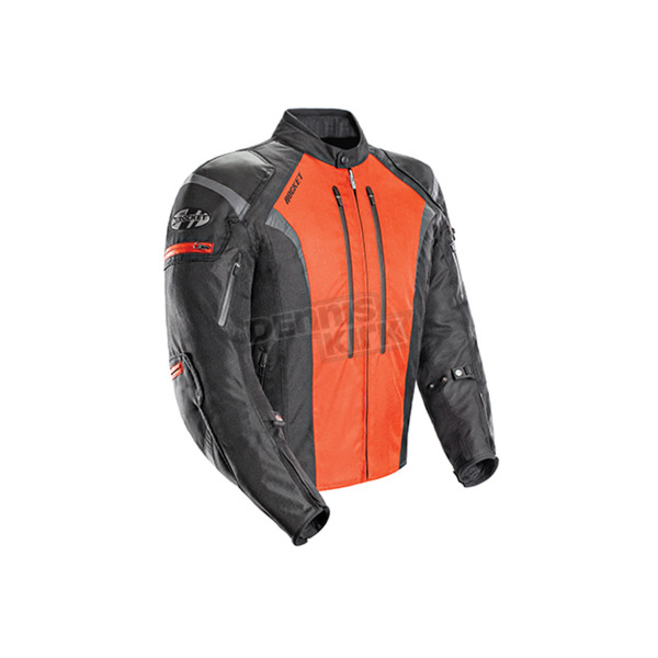 Joe Rocket Black/Orange Atomic 5.0 Jacket - 1651-5702