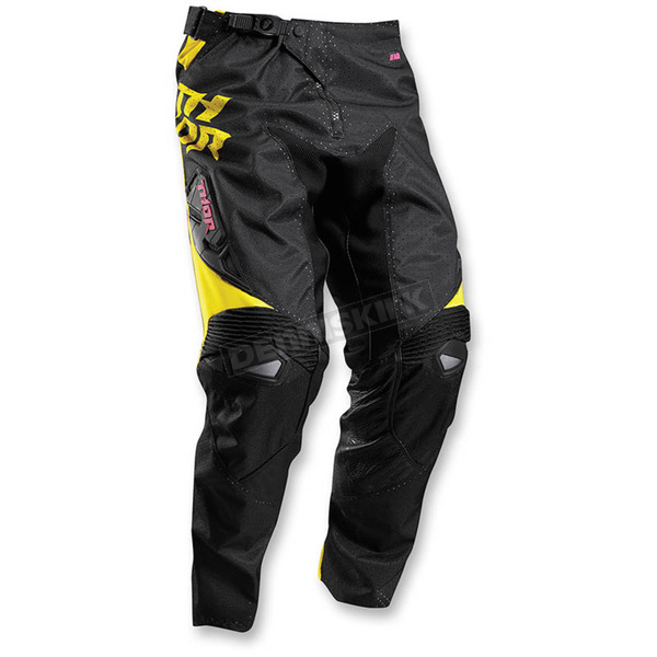 Thor Magenta/Yellow Fuse Air Pants - 2901-5704