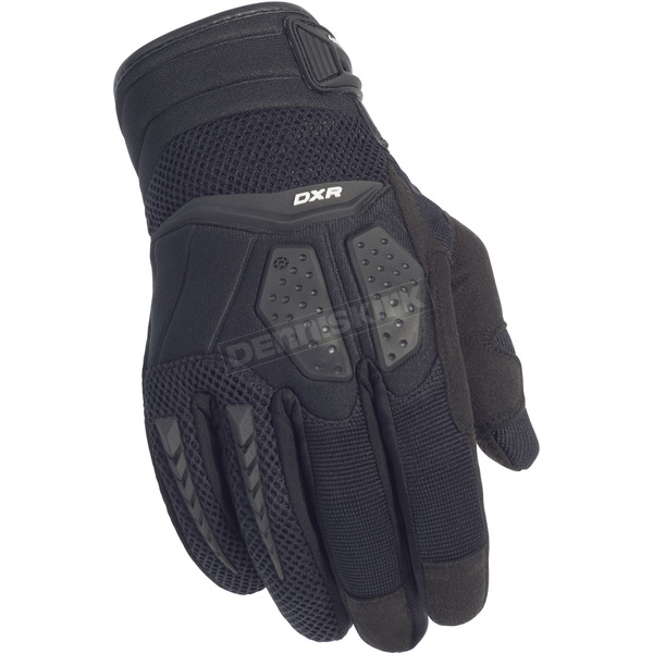 Cortech Black DXR Gloves - 8316-0105-04