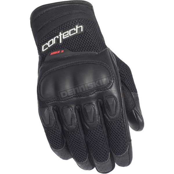 Cortech Black HDX 3 Gloves - 8330-0305-08