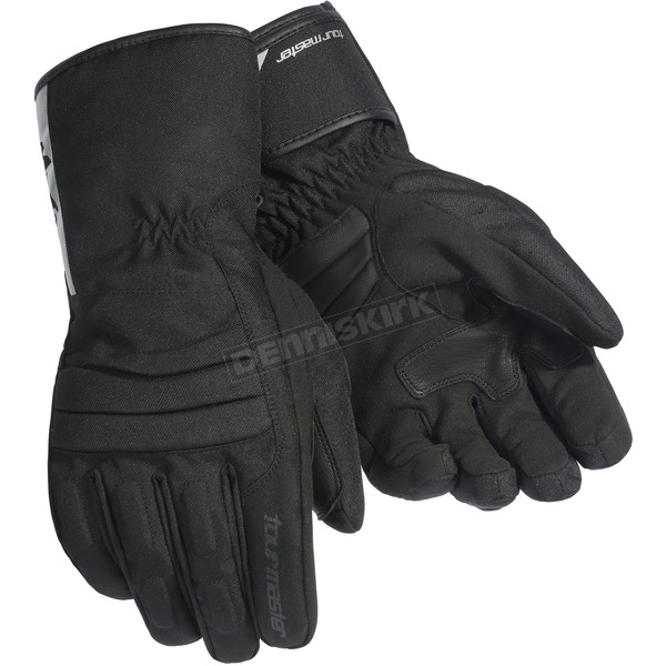 Tour Master Women's Black Mid-Tex Gloves - 8425-0105-75