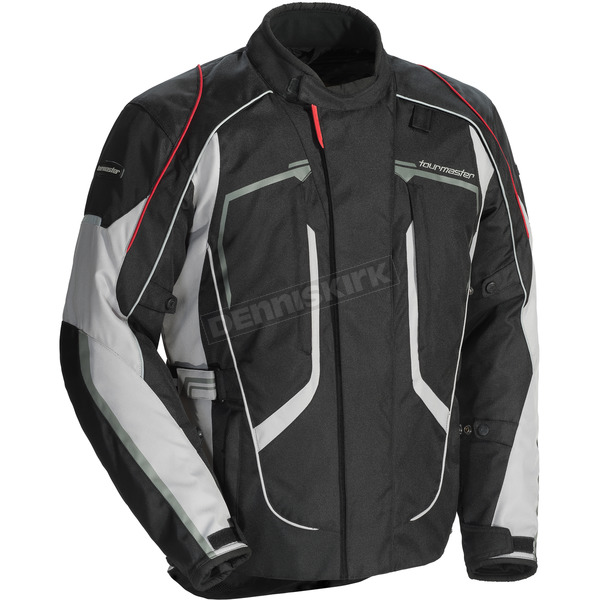 Tour Master Black/Gray Advanced Jacket - 8736-0107-04