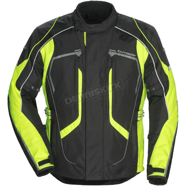 Tour Master Black/Hi-Vis Advanced Jacket - 8736-0113-05