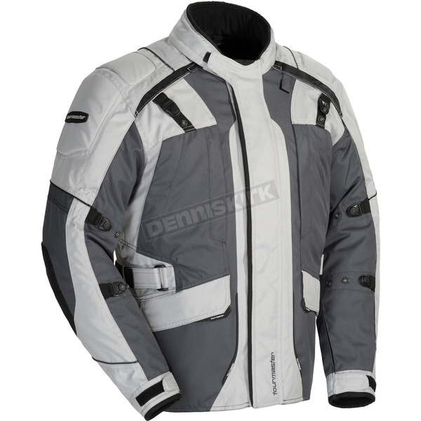 Tour Master Light Gray/Gunmetal Transition 4 Jacket - 8777-0407-07