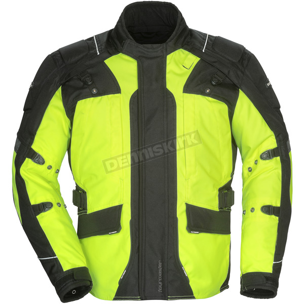 Tour Master Hi-Vis/Black Transition 4 Jacket - 8777-0413-16