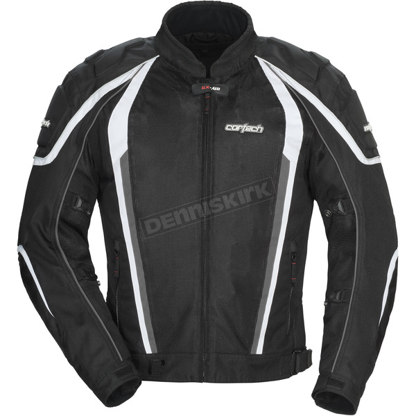 Cortech Black GX-Sport Air 4.0 Jacket - 8985-0405-05