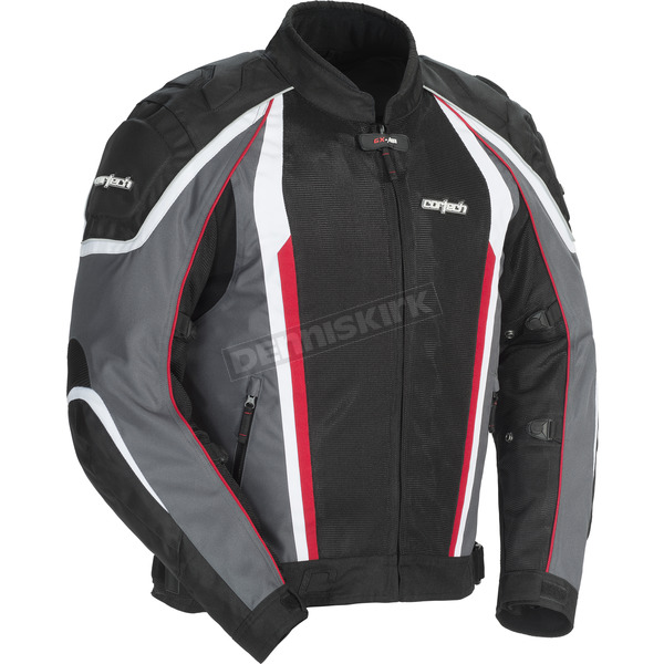 Cortech Gunmetal/Black GX-Sport Air 4.0 Jacket - 8985-0417-04