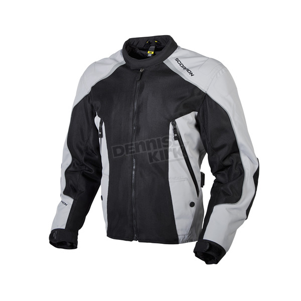 Scorpion Black/Silver Ascendant Jacket - 14002-3
