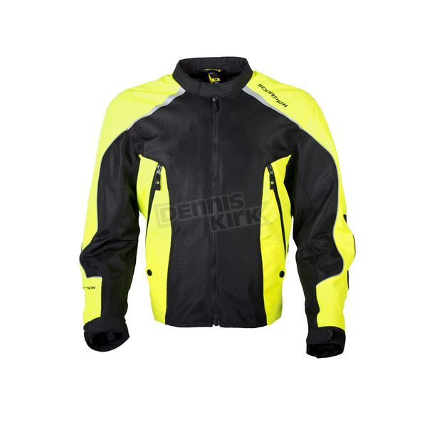 Scorpion Black/Hi-Viz Ascendant Jacket - 14004-4