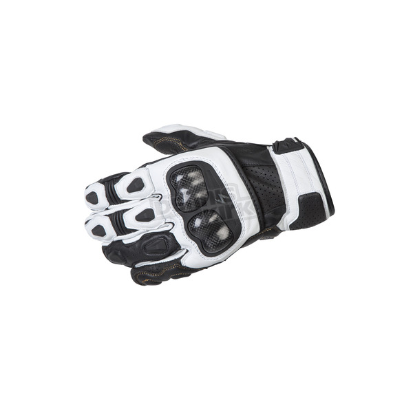 Scorpion White SGS MK II Gloves - G28-047