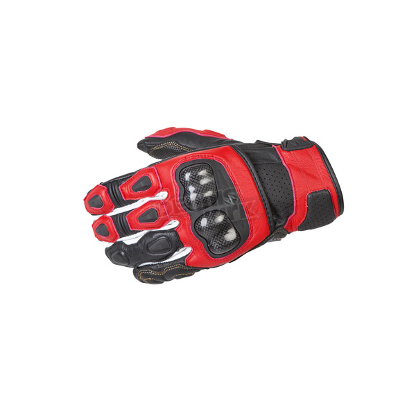 Scorpion Red SGS MK II Gloves - G28-056