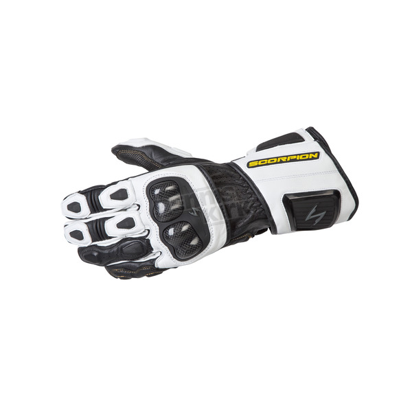 Scorpion White SG3 MK II Gloves - G29-046
