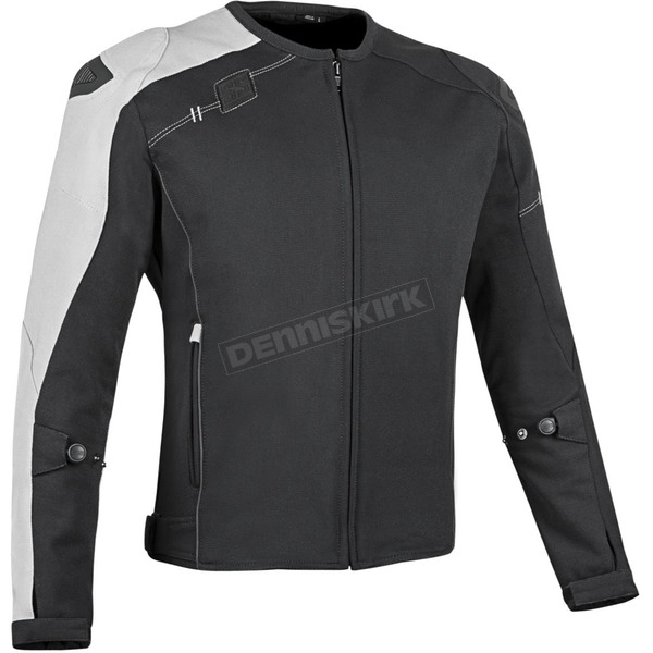 Speed and Strength Black/White Light Speed Textile Jacket - 879690
