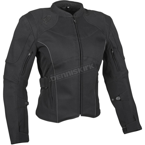 Speed and Strength Women's Black Comin in Hot Textile Jacket - 879719