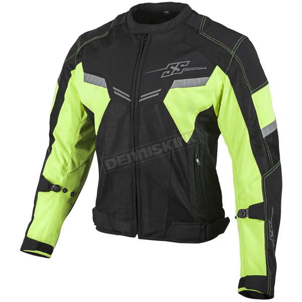 Speed and Strength Hi Viz/Black Power and The Glory Mesh Jacket - 879732