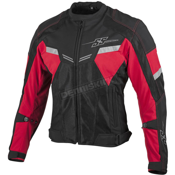 Speed and Strength Red/Black Power and The Glory Mesh Jacket - 879735