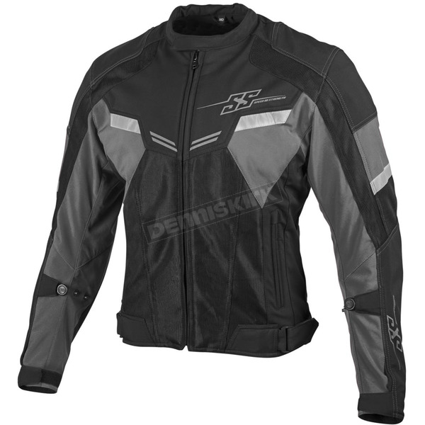 Speed and Strength Silver/Black Power and The Glory Mesh Jacket - 879739