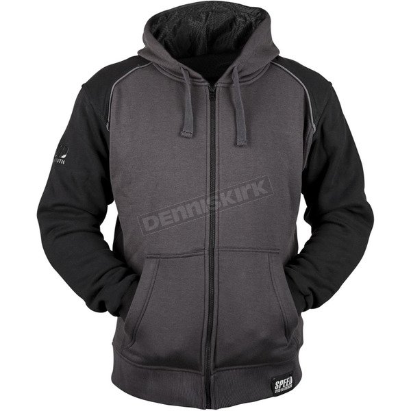 Speed and Strength Black/Charcoal Cruise Missile Armored Hoody - 879749