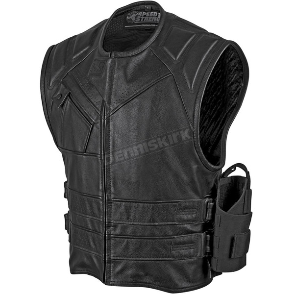 Speed and Strength Quick and The Dead Leather Vest - 879789