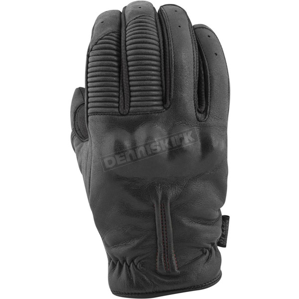 Speed and Strength Black Quick and The Dead Leather Gloves - 879970