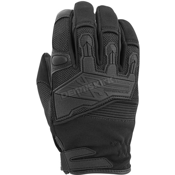 Speed and Strength Black Hammer Down Mesh Gloves - 872268