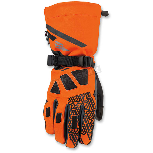 Arctiva Orange/Black Quest Gloves - 3340-1075