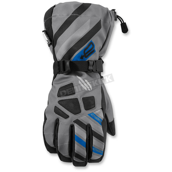 Arctiva Gray/Blue Ravine Glove - 3340-1118