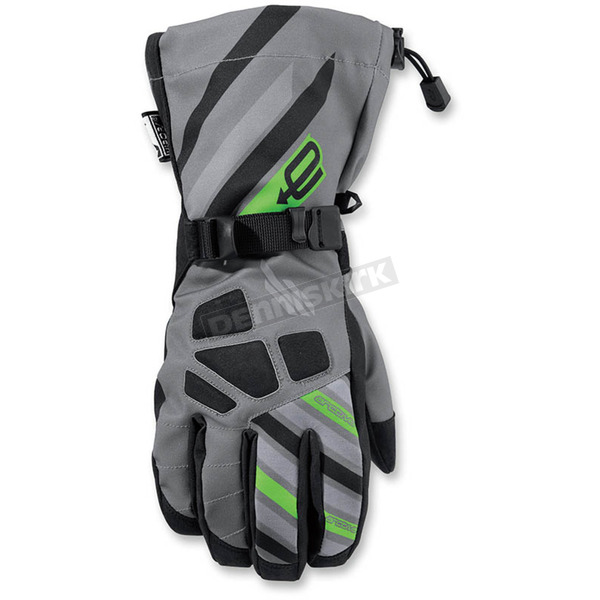 Arctiva Gray/Green Ravine Glove - 3340-1138