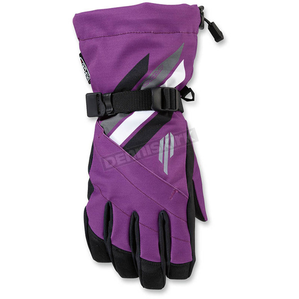 Arctiva Women's Purple Sky Gloves - 3341-0362