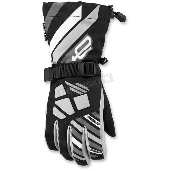 Arctiva Youth Black/Gray Ravine Gloves - 3342-0215