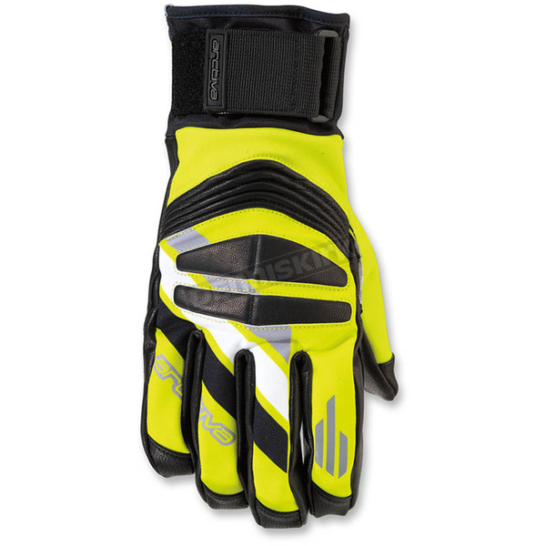 Arctiva Hi-Vis Yellow/Black Rove Gloves - 3340-1164