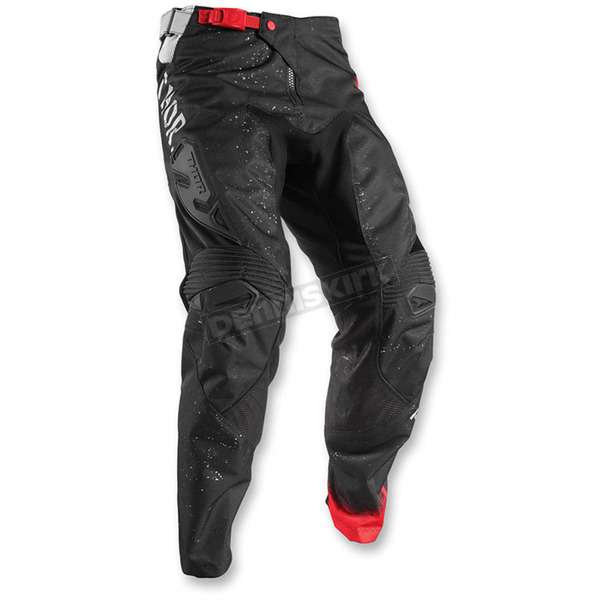 Thor Grey/Black Fuse Objective Pants - 2901-5726