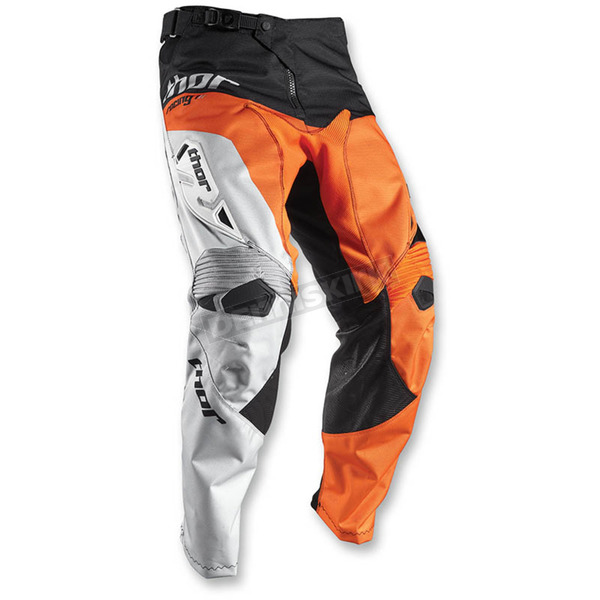 Thor Orange/Black Fuse Pinin Pants - 2901-5734