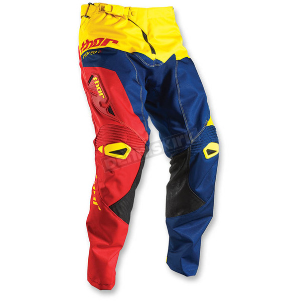 Thor Navy/Red/Yellow Pinin Pants - 2901-5744