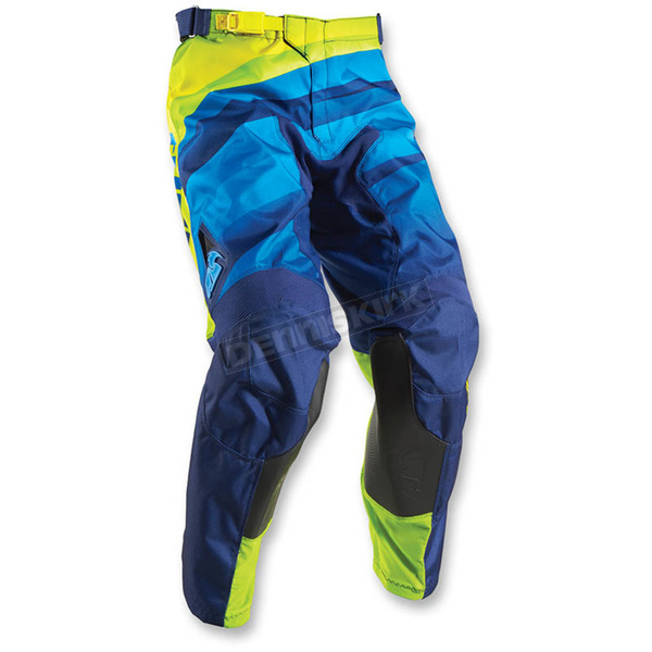 Thor Navy/Lime Pulse Velow Pants - 2901-5836