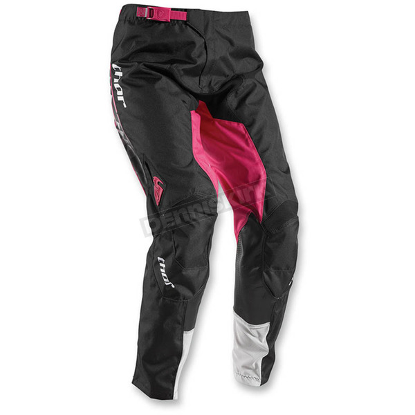 Thor White/Magenta Womens Pulse Facet Pants - 2902-0183