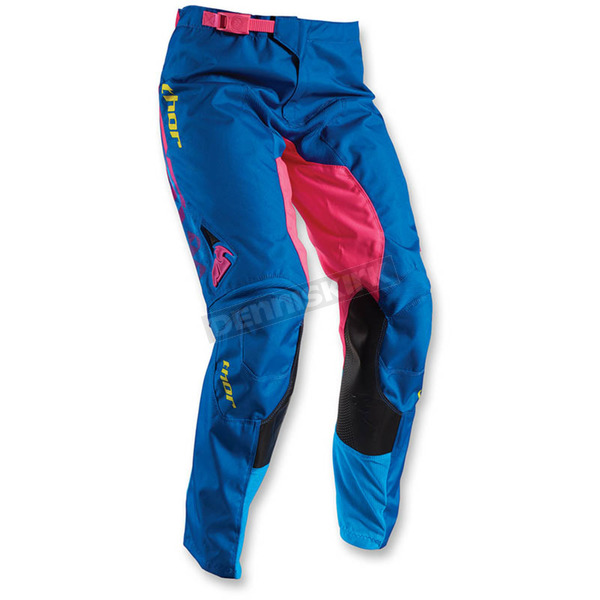 Thor Blue/Pink Womens Pulse Facet Pants - 2902-0188
