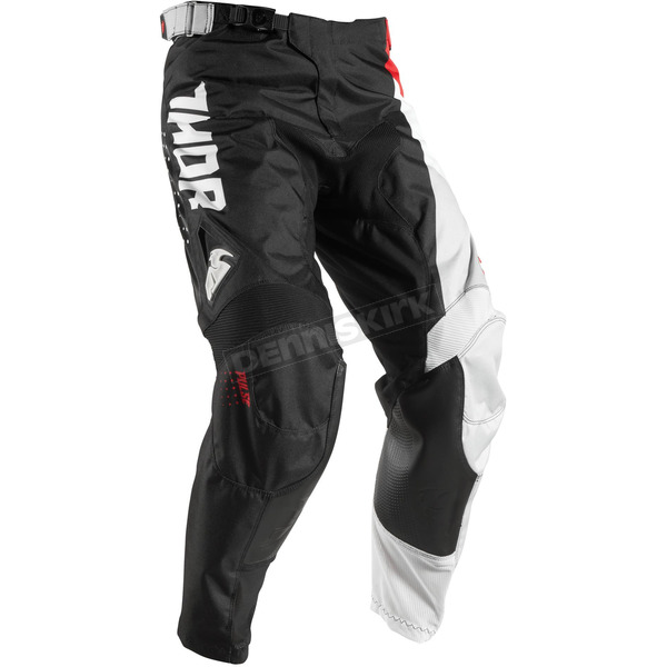 Thor Youth Red/Black Pulse Aktiv Pants - 2903-1429