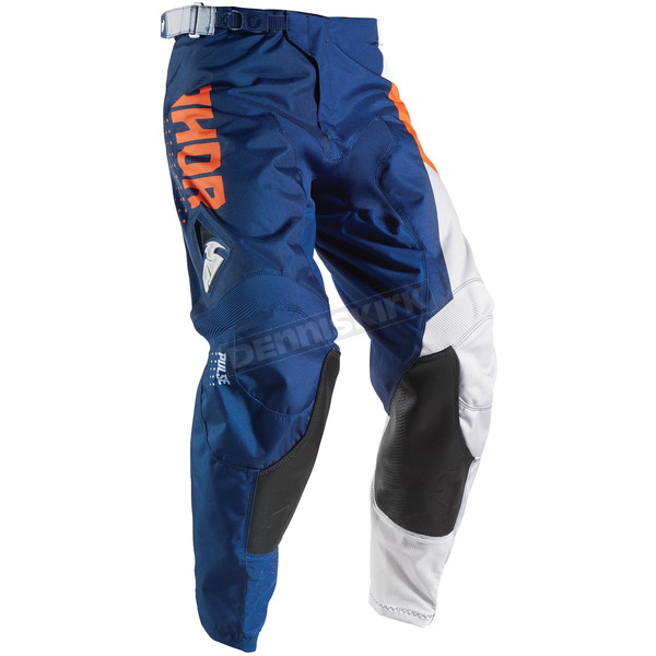 Thor Youth Orange/Navy Pulse Aktiv Pants - 2903-1435