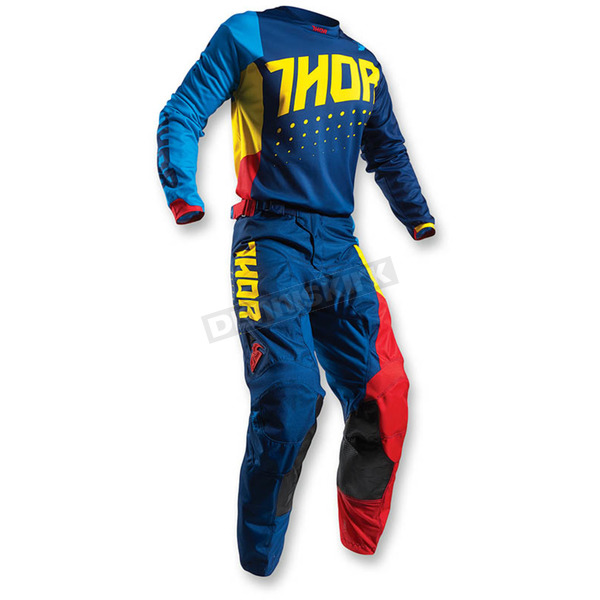 Thor Multi Color Pulse Aktiv Jersey - 2910-3908