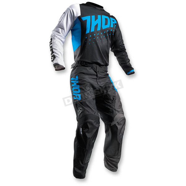 Thor Blue/Black Pulse Aktiv Jersey - 2910-3919